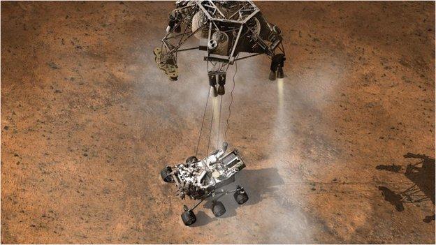 Nasa 2020 robot rover to target Jezero 'lake' crater