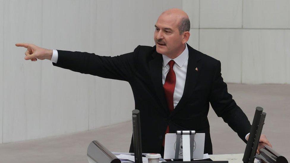 سليمان صويلو، وزير الداخلية التركي