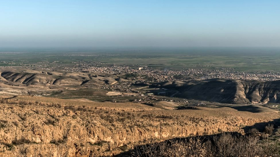 The city of Sinjar, February 2015.