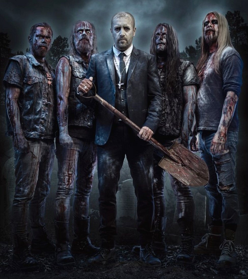 Swedish death metal band: Bloodbath