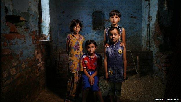 Bibipur village family