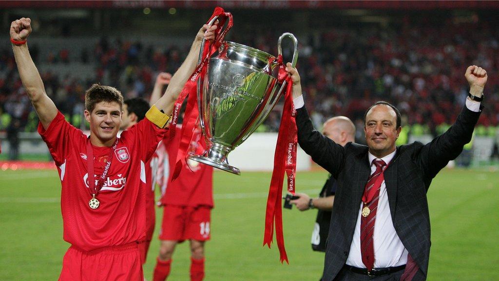 Current Liverpool team better than my 2005 winners - Benitez