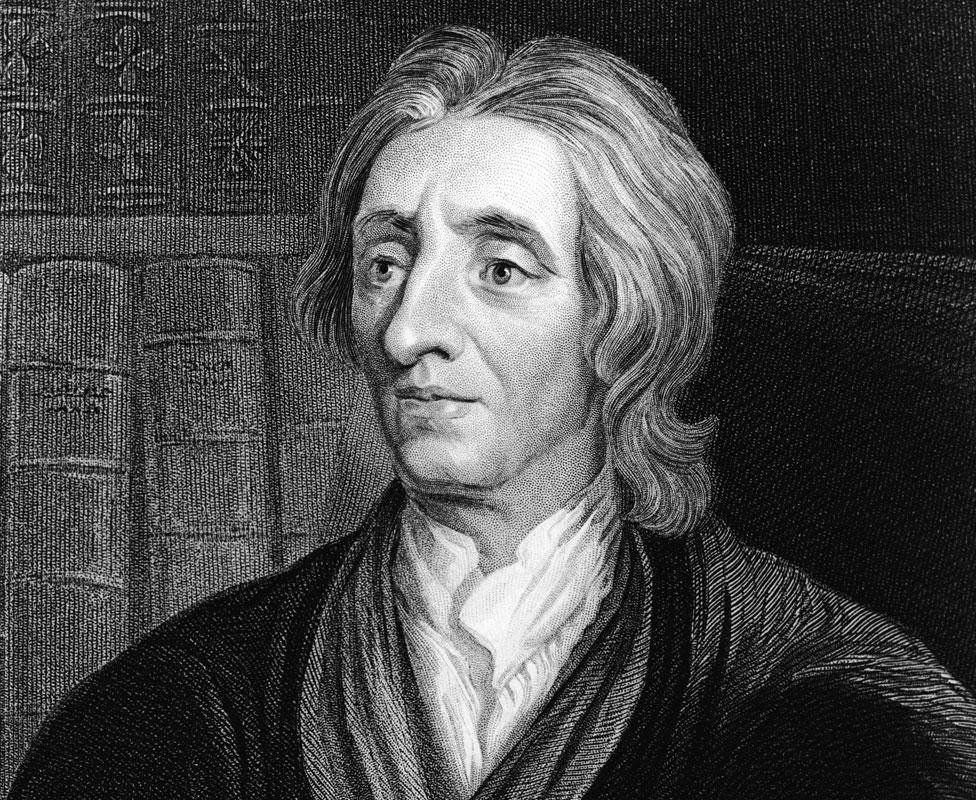 The philosopher John Locke