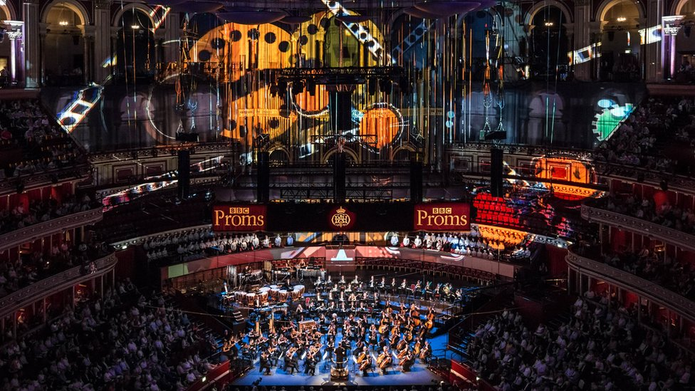 倫敦皇家阿爾伯特音樂廳舉行的BBC夏季逍遙音樂會(BBC Proms)