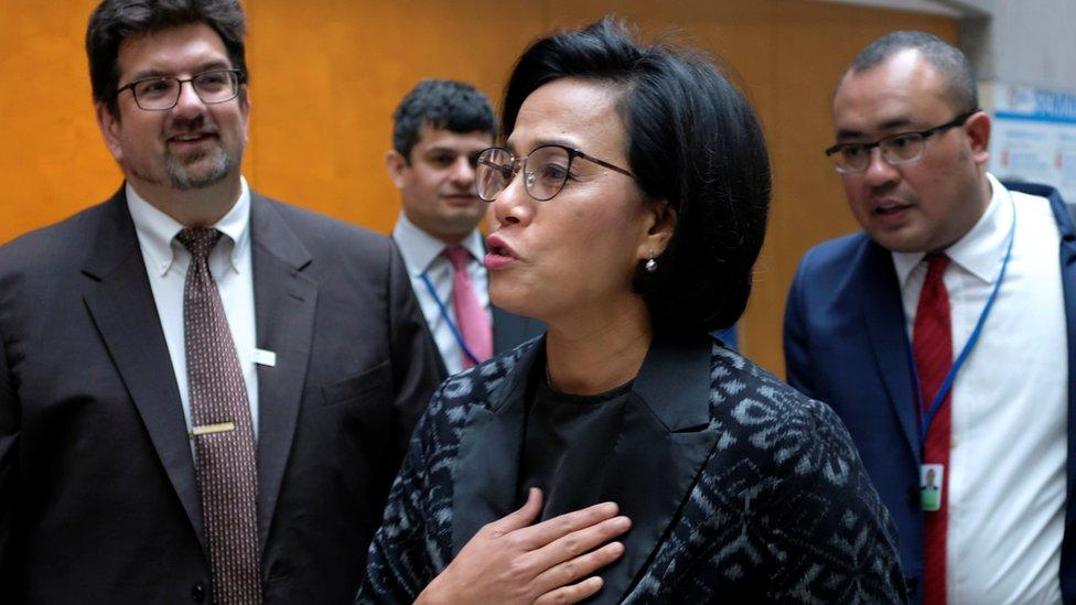 印尼財政部長英卓華