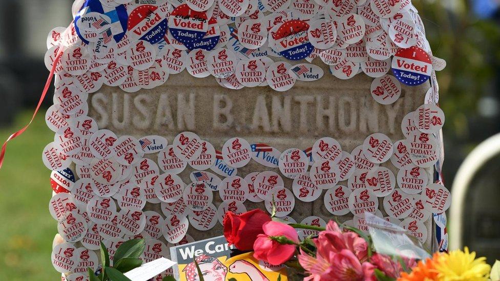 蘇珊·安東尼之墓