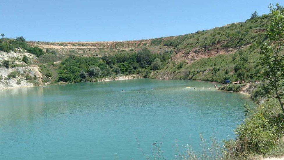 besanovačko jezero