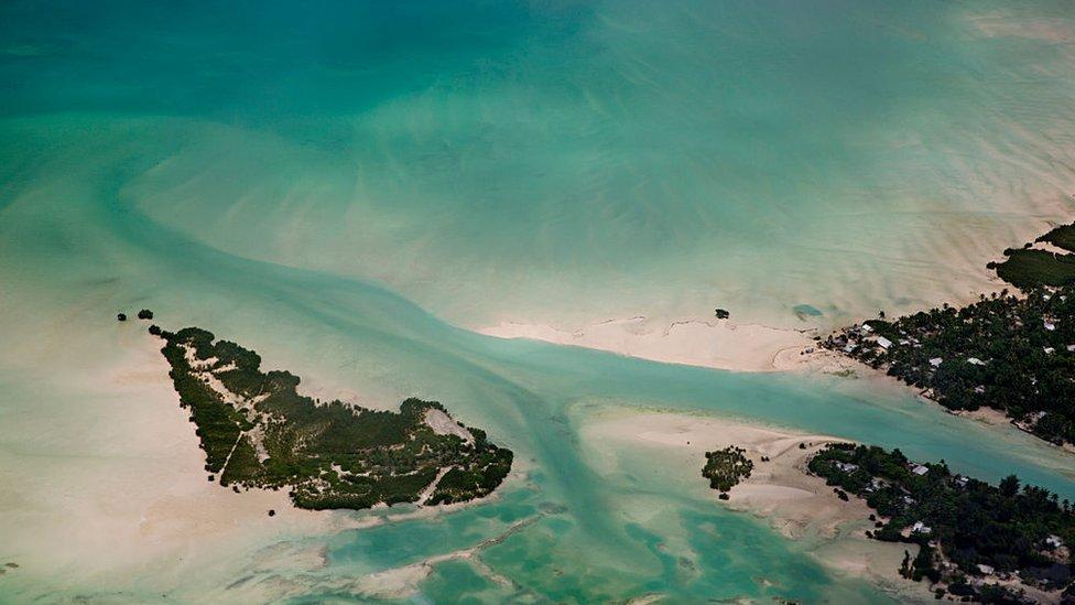 Panorámica de Kiribati.