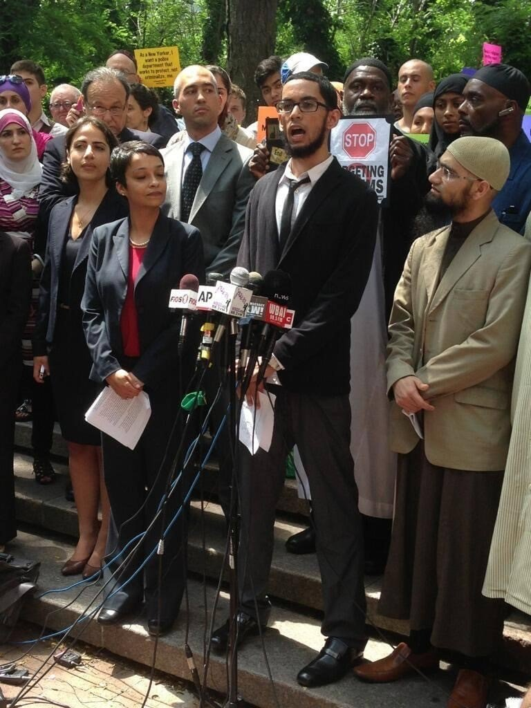 Asad Dandia when he filed his case against the NYPD.