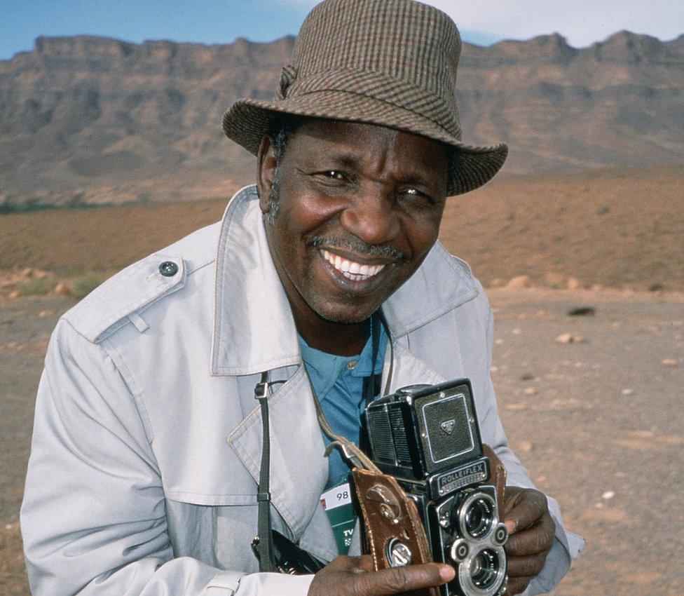 Malian photographer Malick Sidibe