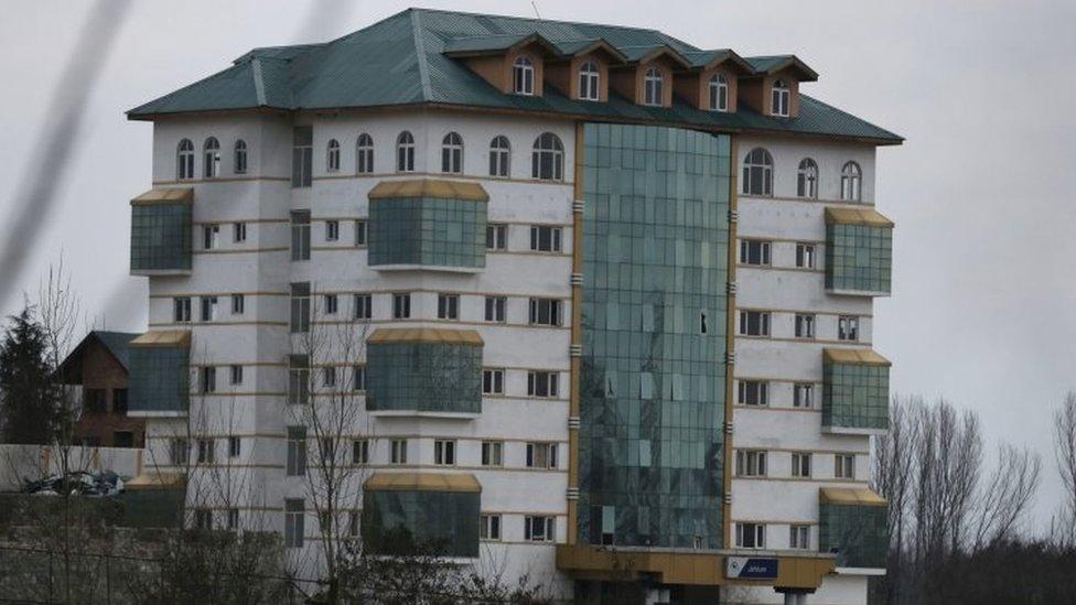 The Entrepreneurship Development Institute near Srinagar (20 February 2016)