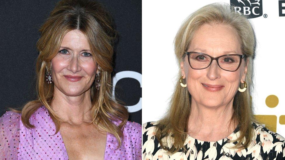 Laura Dern y Meryl Streep