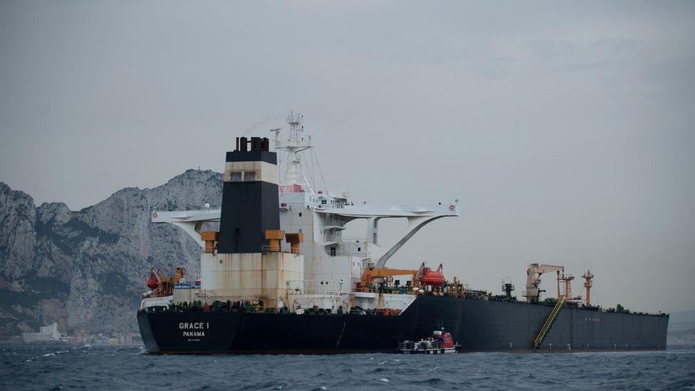 إيران نفت توجه ناقلة النفط الإيرانية إلى سوريا