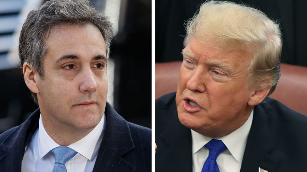 Trump: 'I never directed Michael Cohen to break the law'