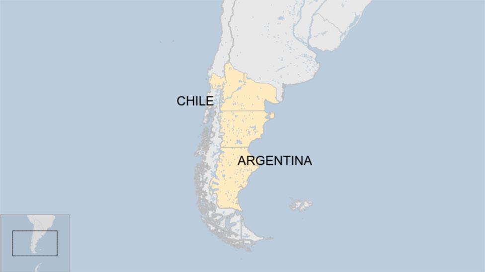 El Reino de la Auracanía y la Patagonia.
