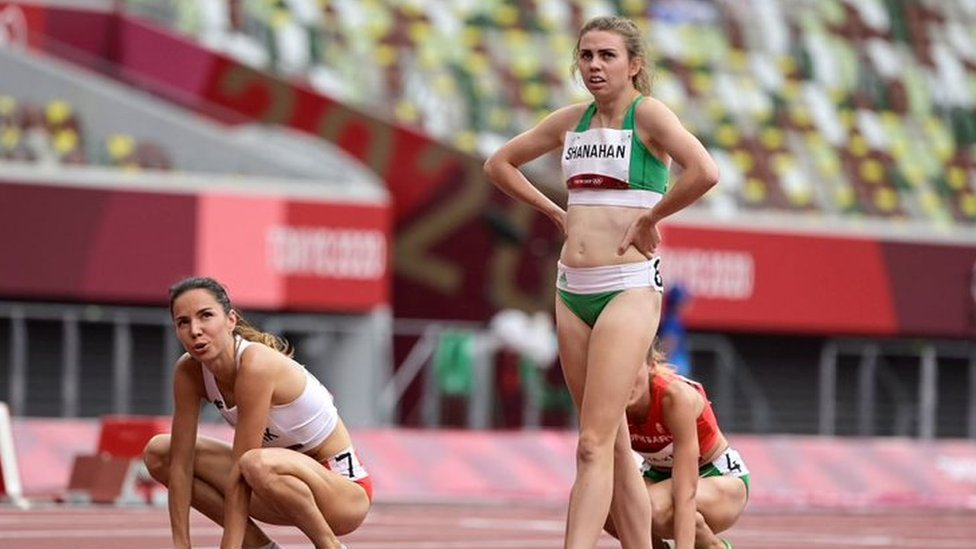 Louise Shanahan compitió en los 800 metros en Tokyo 2020