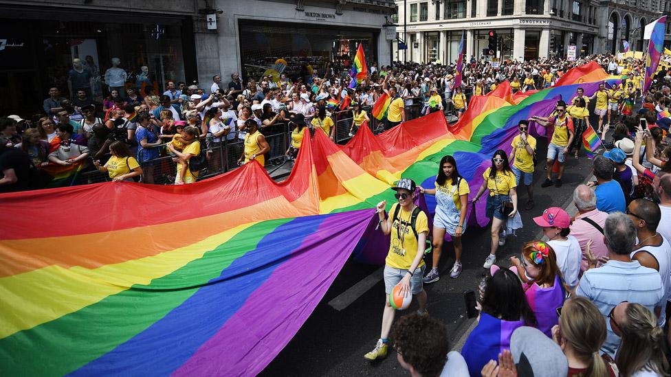 Pride In London parade 2018