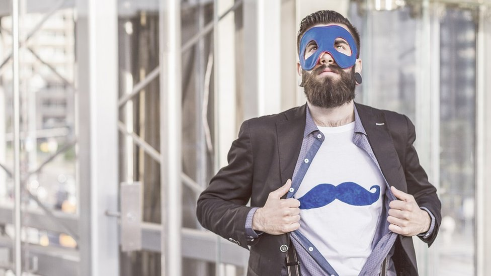 Hipster superheroj