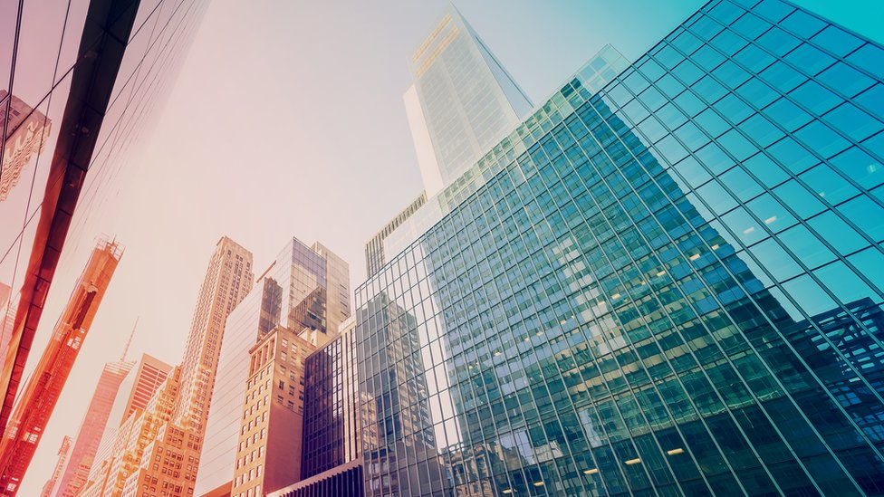 Edificios en Nueva York.