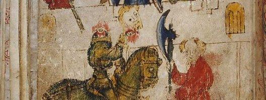 Sir Gawain and the Green Knight illustration