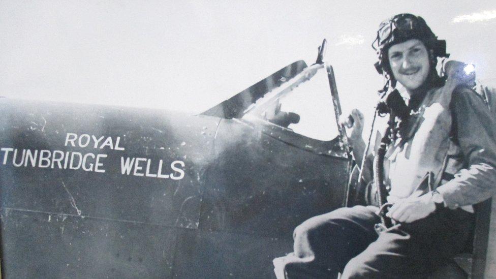 Tunbridge Wells spitfire