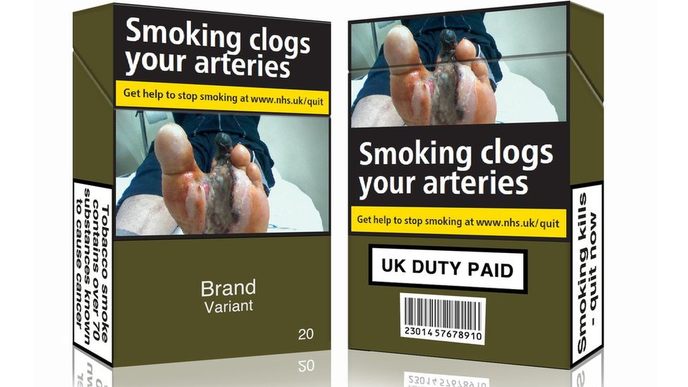Plain tobacco packaging 'may cut smokers by 300,000 in UK'