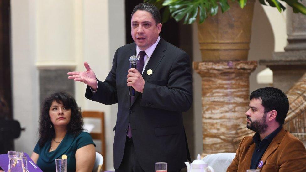 Ministro boliviano
