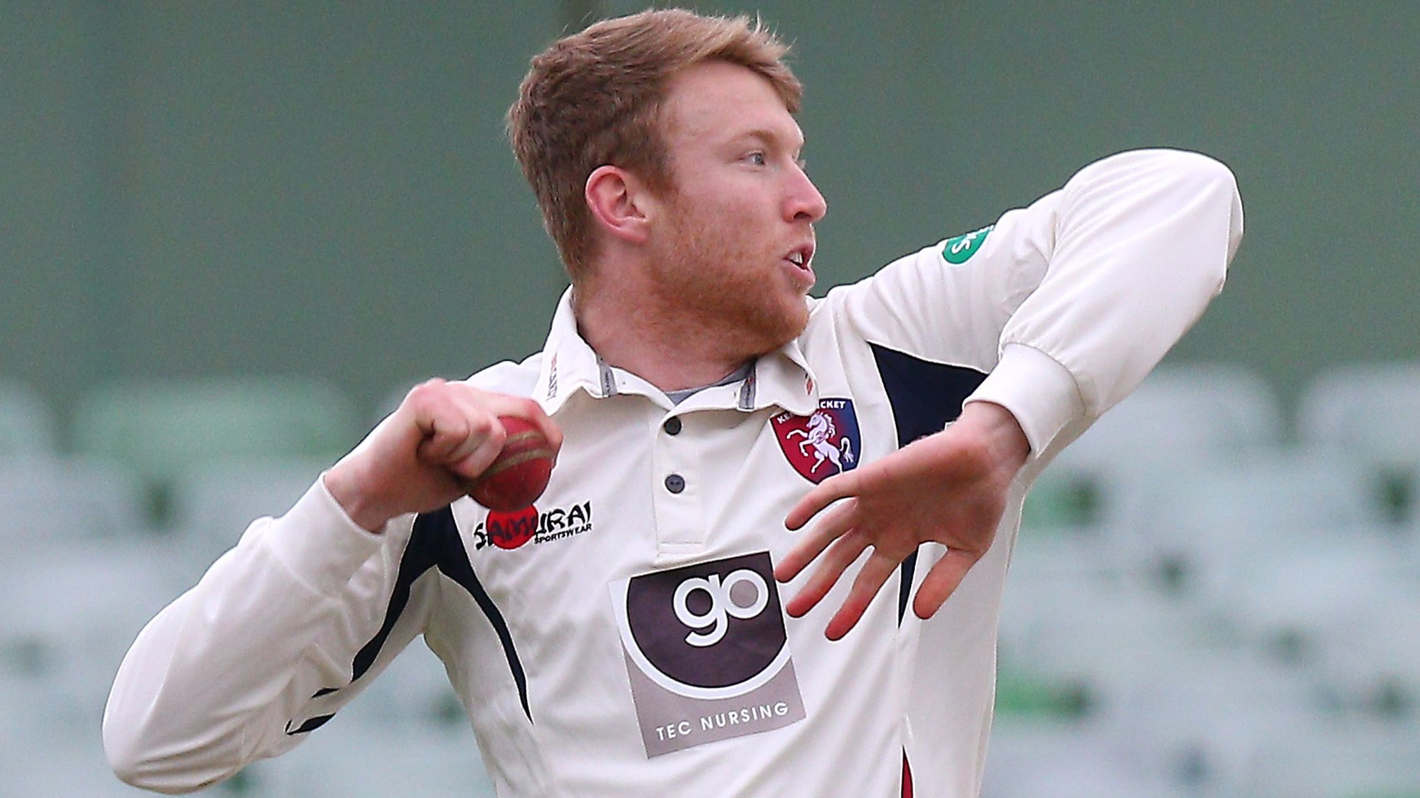 Adam Riley: Kent off-spinner released by mutual consent
