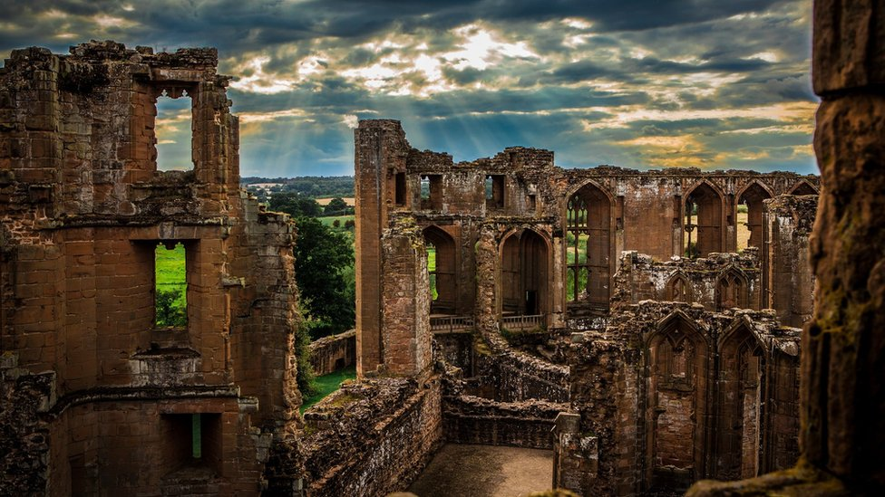 Kenilworth Castle, in Warwickshire