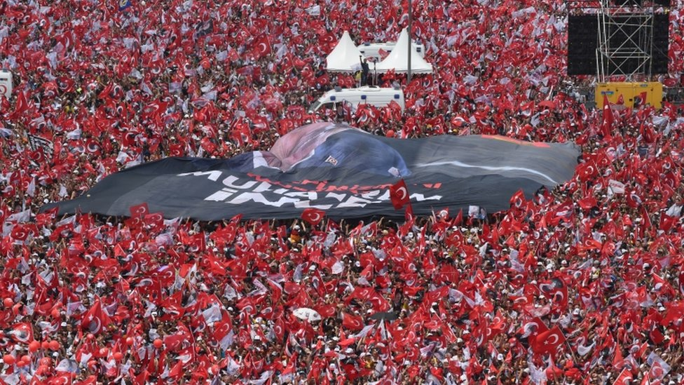 Protest opozicije u Turskoj