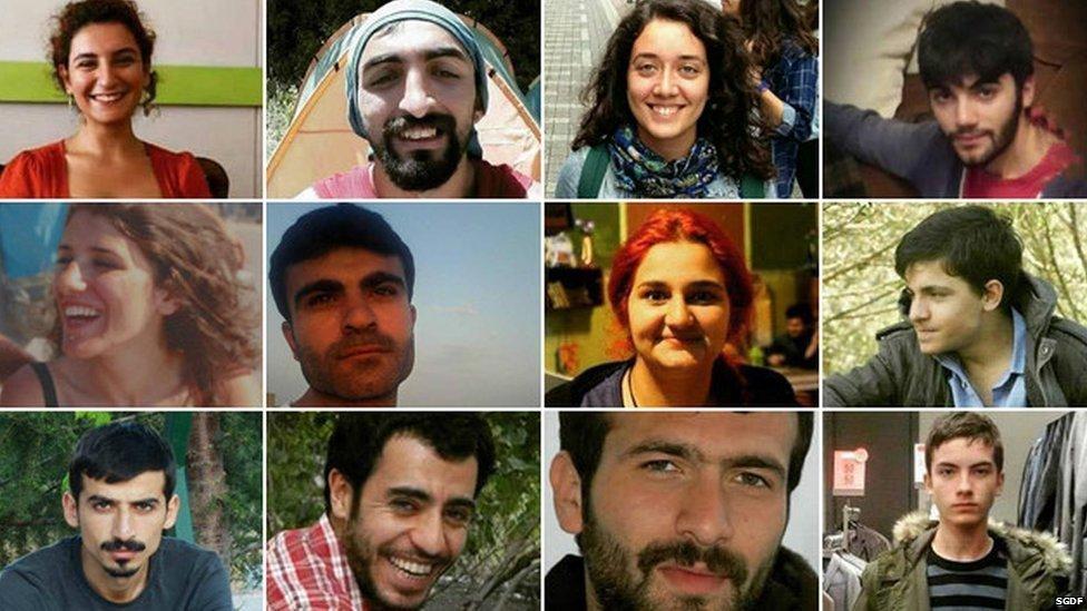 Victims of Suruc attack
