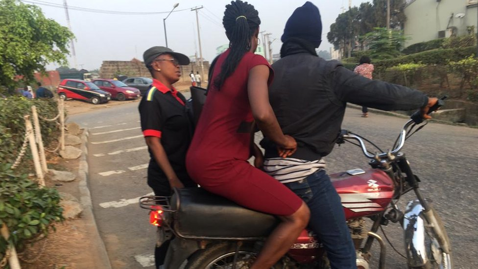 Lagos Motorbike Taxi Ban Chaos As Nigerian City Removes Okadas Bbc News
