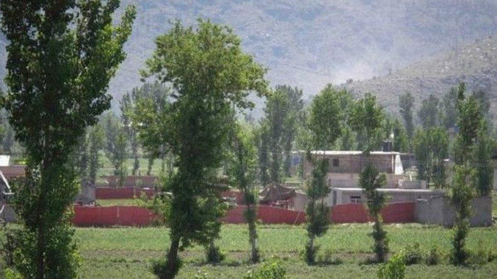 تم العثور على زعيم تنظيم القاعدة في هذا المجمع السكني بمنطقة أبوت آباد قرب العاصمة الباكستانية