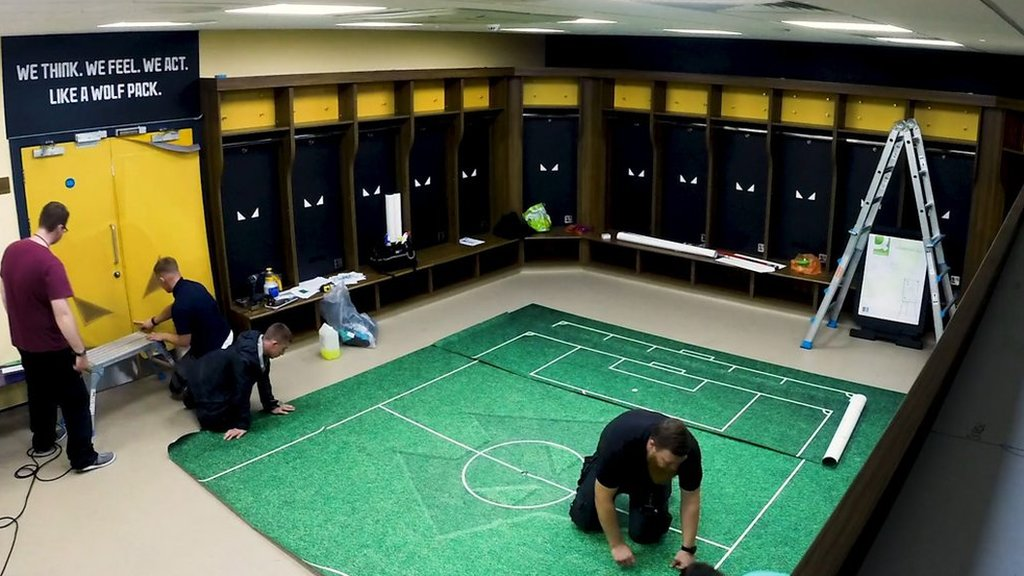 Wolves' dressing room is Premier League ready