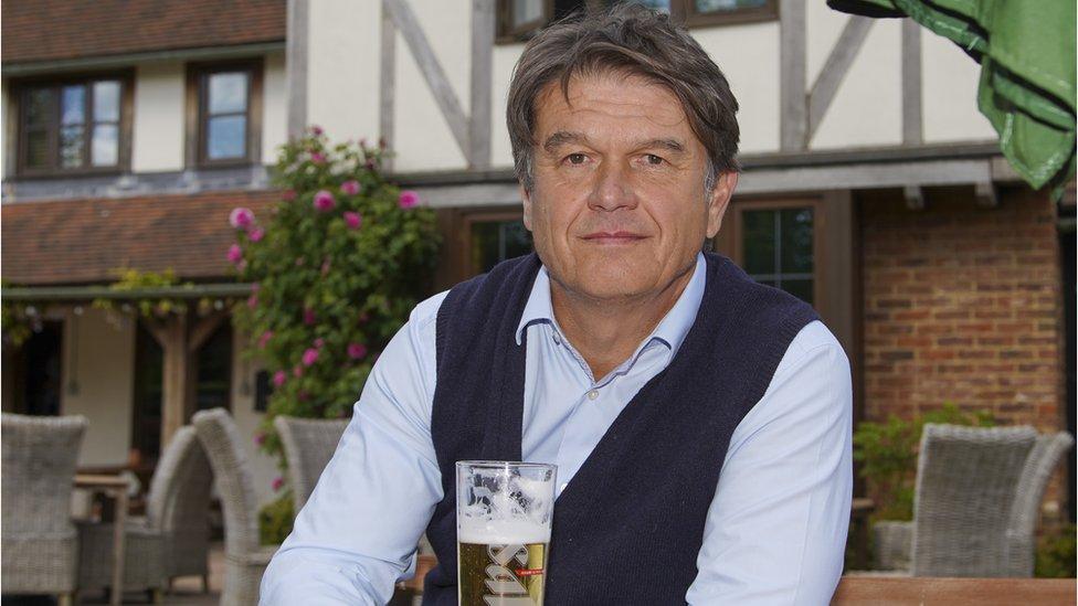Peter Borg-Neal, chairman of pub chain Oakman Inns
