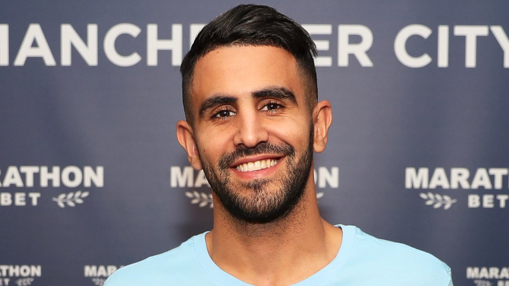 Riyad Mahrez: Manchester City sign winger from Leicester for £60m