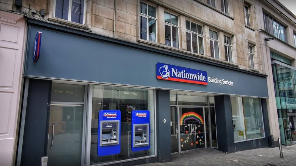 Nationwide on Albion Street in Leeds