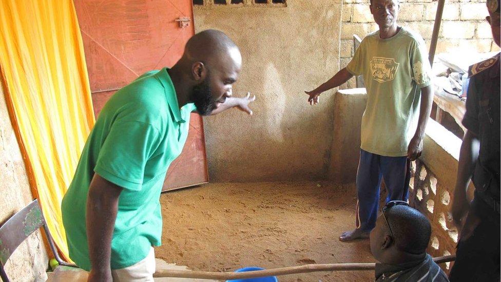 Traore family in Mali