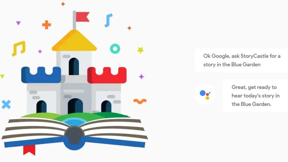 Google Home storytime