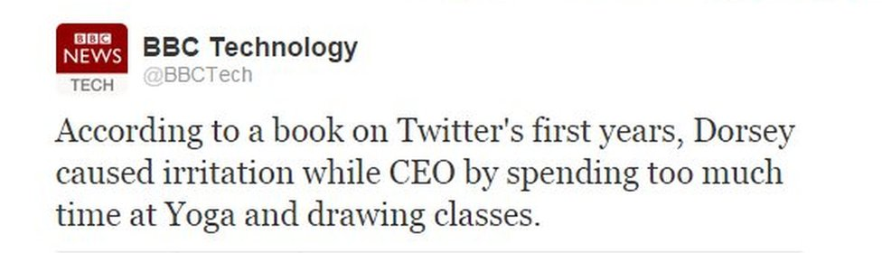 Fourth tweet