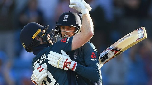 Highlights: Root & Morgan see England home