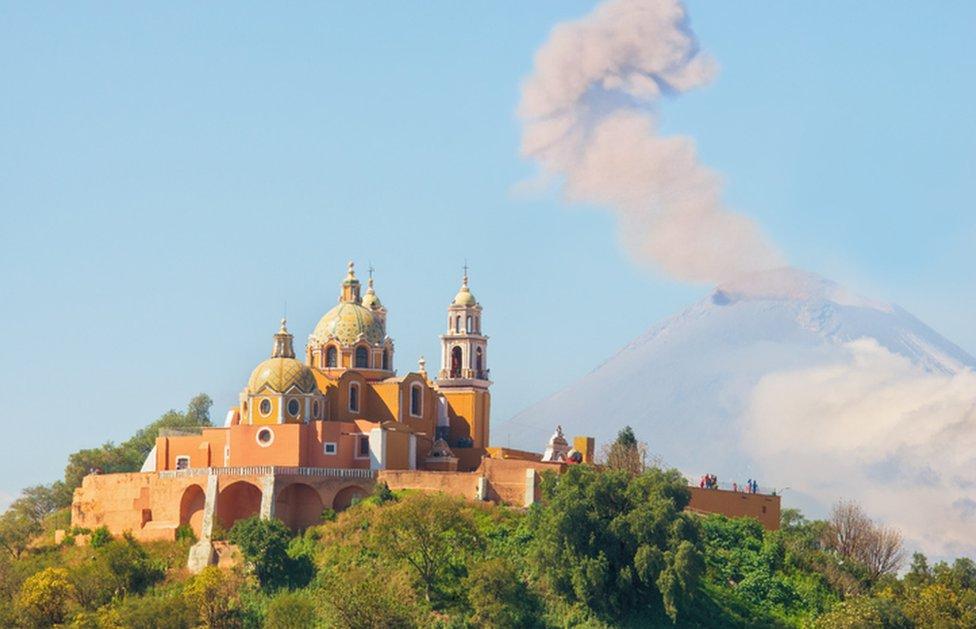 Cholula, Puebla.