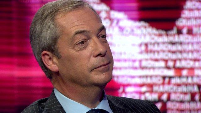Nigel Farage, former leader of the UK Independence Party