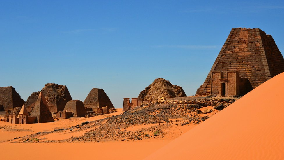 Lokalitet Al Bagravija u Sudanu