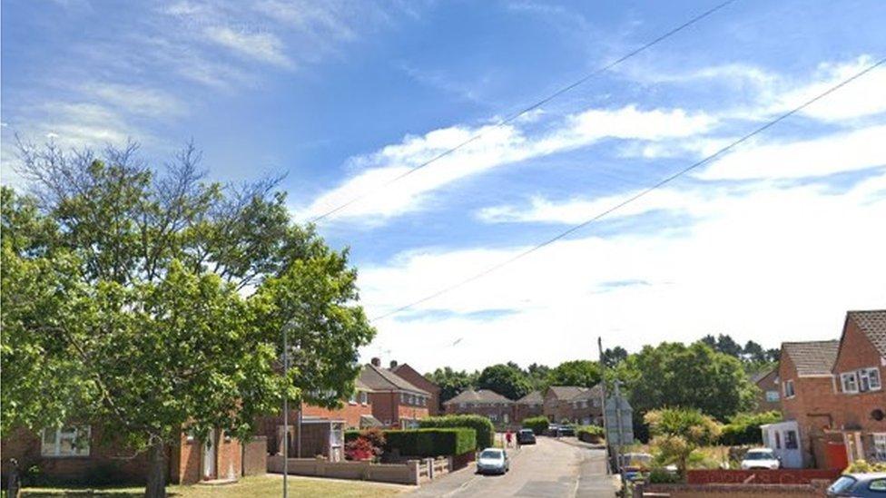 Five men sought after Hamworthy armed house raid