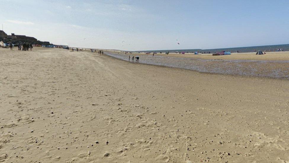 Norfolk family beach walk missing man, 75, found alive