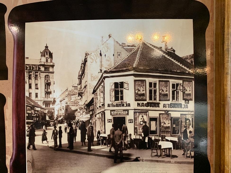 Slike starog Beograda čuvaju se u poslastičarnici Pelivan