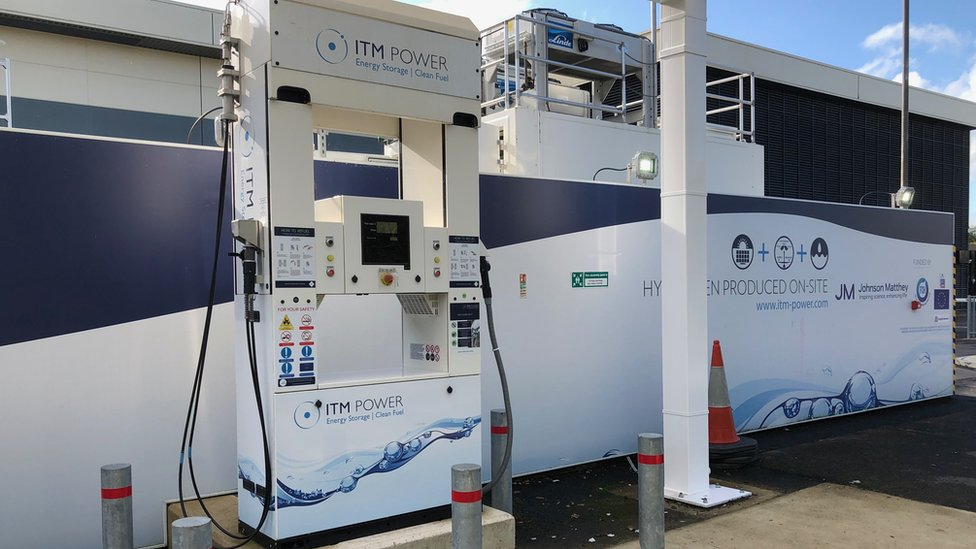 Johnson Matthey hydrogen pump