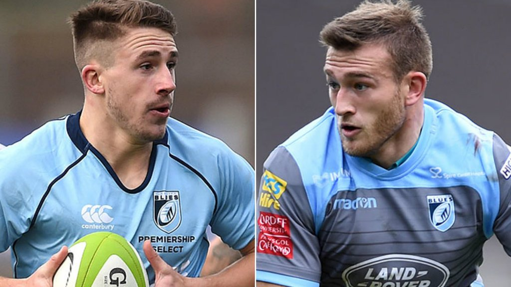Cardiff Blues re-sign young centres