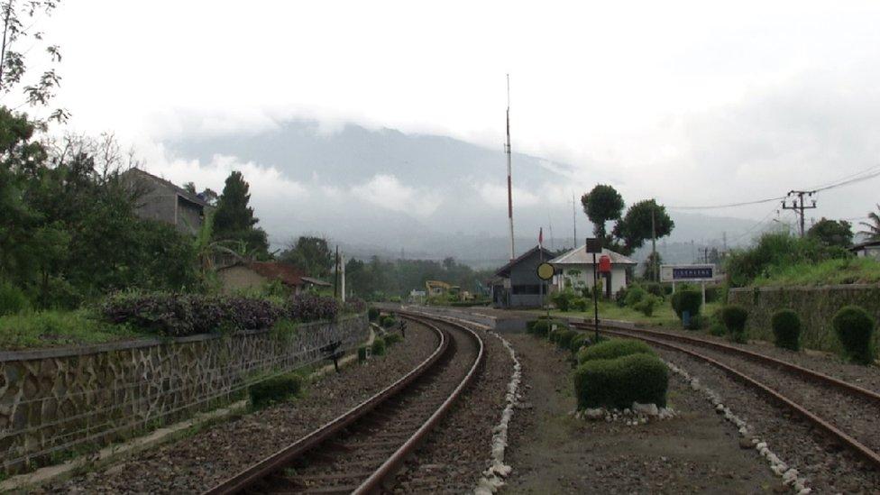 kereta api, stasiun cigombong